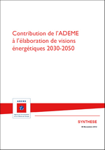 visions energetiques ademe 2030-2050